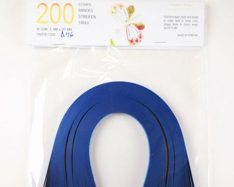 Royal Blue Hartie quilling 5 mm 80 gr D46