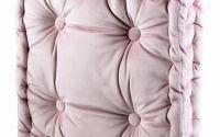 Perna de sezut roz din bumbac cu model deosebit