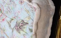 Perna de sezut colorata din bumbac cu model