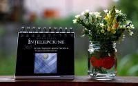 Vaza si calendar cu mesaje motivationale