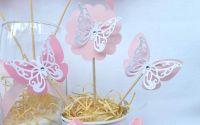 Decor candy bar botez petreceri Fluturi