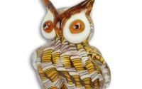 Bufnita din sticla Murano
