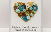 tablou cu mesaj romantic iubitori de cafea
