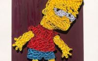 Tablou Quilling Simpsons