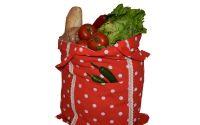 Sacosa rustica pentru cumparaturi ecologic buline