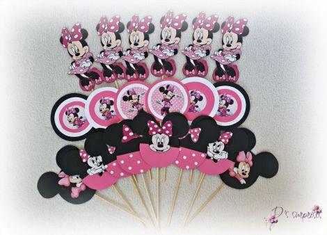 Toppere botez Minnie si Mickey