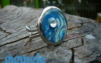 Blue Waves - Round Sea Treasure