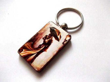 breloc lemn