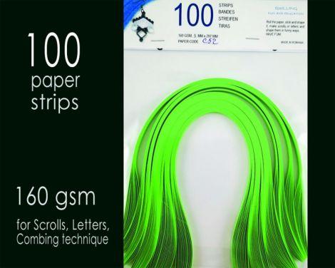 Carton quilling Verde fistic 160 gsm 5 mm C52