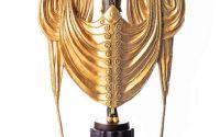 Dansatoare Art Deco - statueta din bronz
