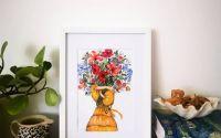ilustratie buchet flori