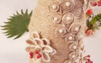 Vaza flori handmade