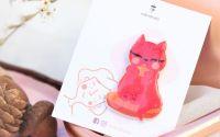 Pisica portocalie - pin