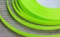 Panglica verde neon 6 mm