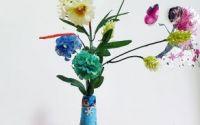Vaza decorata cu flori