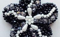 Brosa Floare cristalina