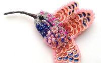 Brosa Colibri Pink