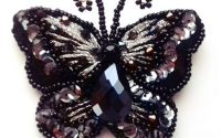 Brosa Fluture Negrutu