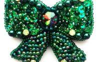 Brosa Fundita verde irizant