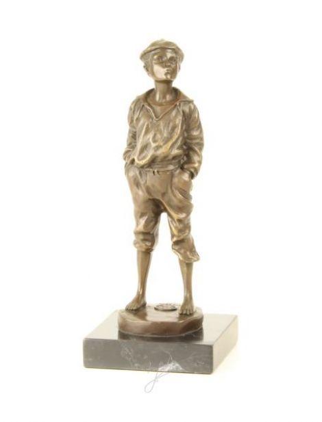 Vagabondul-statueta din bronz