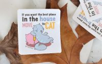 Move the Cat - sticker