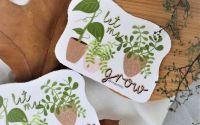 Let me grow - sticker
