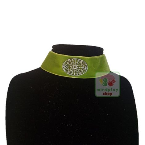 """Choker """"Lady of the woods"""" verde"""