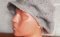 Newsboy hat women-Sapca crosetata pentru femei