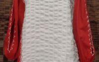 Bluza cusuta manual