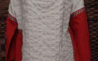 Bluza cu benzi decorative-motive traditionale
