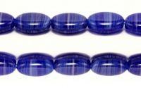 Margele sticla presata Cehia ovale 12 x 9 mm