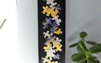 Decoratiune cu piese de puzzle