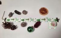 "Choker ""Christmas Tree"" verde"