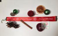 "Choker ""Merry Christmas"" rosu"