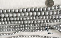 Margele sticla 6mmx10buc