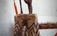 Geanta de Umar Macrame Model Wayuu