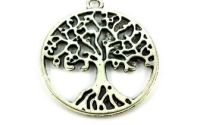 Pandantiv argintiu copacul vietii 25 mm