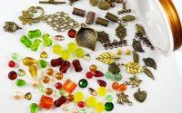 Lot 100 pietre semipretioase margele si accesorii