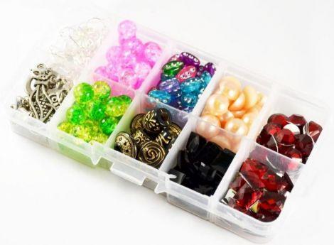 Kit pentru confectionare bijuterii 100 componente