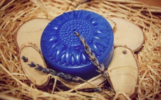 Sapun Lavanda simpla forma de floare