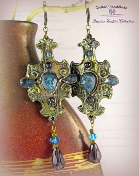 "Cercei handmade  ""Medieval Art """