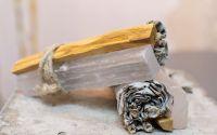 Buchet aromaterapie Selenit Palo Santo Salvie