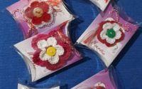 Martisor floare crosetata