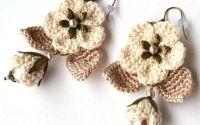 Cercei Vintage flowers
