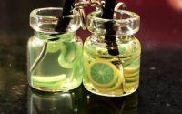 Cercei borcanas cu limonada- kiwi si lime