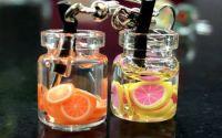 Cercei borcanas limonada-portocale si grapefruit