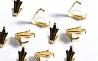 10 Agatatori aurii 10 x 5 mm