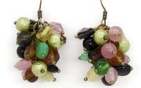 Cercei ciorchina colorata