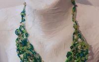 Colier semipretioase cadou femei verde jad agate