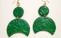 Cercei Aurora - Verde smarald